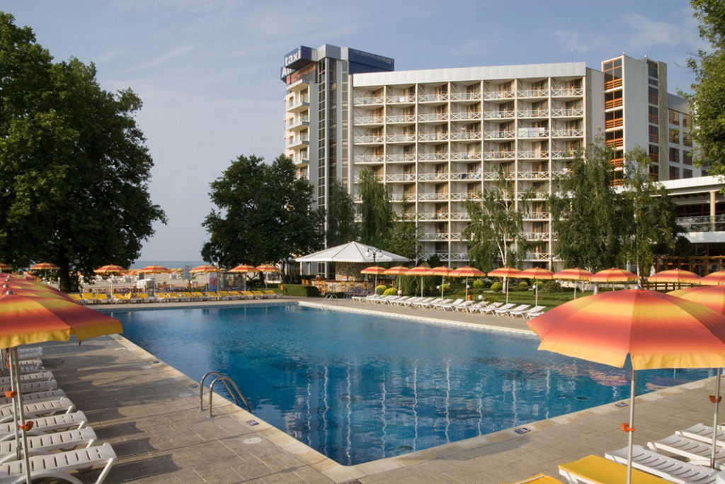 Widok na basen – Bułgaria Hotel Kaliakra