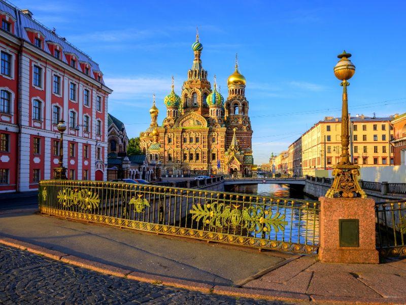 Białe noce Petersburg 1